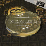 """Bouton de Dealer """"Cards"""""""