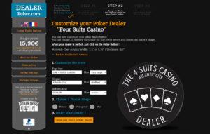 Choisissez le modèle de Bouton de Dealer
